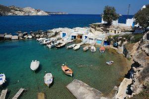 Ne manquez pas de visiter l'île de Milos lors de votre séjour en Grèce